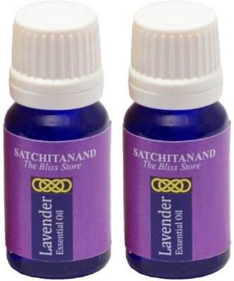 Satchitanand Lavender Essential Oil - Twin Pack