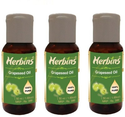 Herbins Grapeseed Oil Combo - 3
