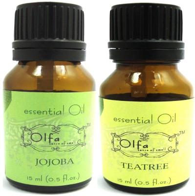 Olfa Jojoba and Tea Tree Essential Oil Combo Pack
