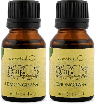 Olfa Lemongrass Essential Oil Combo (Pack Of 2) 15ml+15ml
