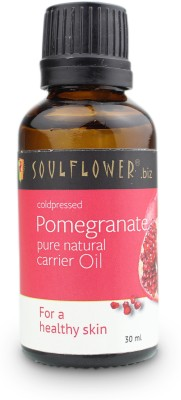Soulflower Coldpressed Pomegranate Carrier Oil