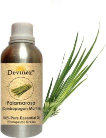 Devinez 500-2026, Palmarosa Essential Oil, 100% Pure, Natural & Undiluted