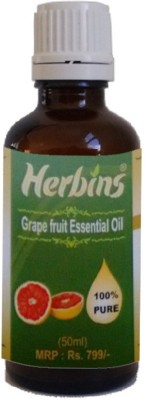 Herbins Grape Fruit Essential Oil-50ml