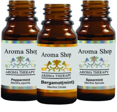 Rk's Aroma Peppermint, Spearmint & Bergamot Mint Essential Oil (pack of 3)
