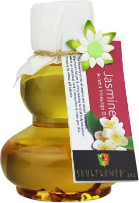 Soulflower Jasmine Aroma Massage Oil(90 ml)