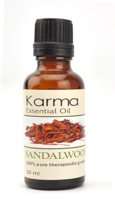 Karmakara 100% pure Therapeutic Grade undiluted essential oils in 30 ml Bottles-sandalwood oil