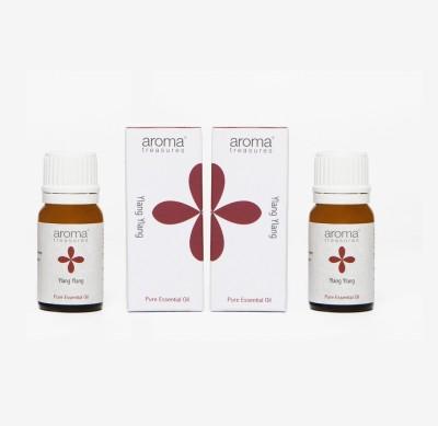 Aroma Treasures Ylang Ylang Essential Oil 10ml (Pack Of 2)
