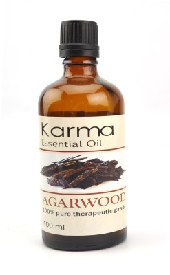 Karmakara 100% Pure Therapeutic Grade Undiluted Essential Oils In Bottles-Agarwood Oil