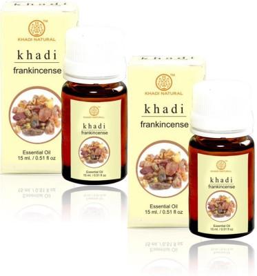 Khadi Natural Natural Frankincense Essential Oil - 15ml (Set of 2)