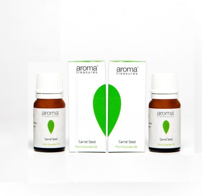 Aroma Treasures Carrot Seed Essential Oil 10ml (Pack Of 2)