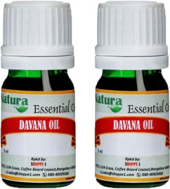 Natura Davana (Artemesia Pallens) Natural Essential Oil pack of 2
