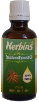 Herbins Sandalwood Essential Oil-50ml