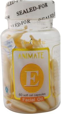 Forteens 60 Vitamin E Facial (Yellow) Capsules Oil