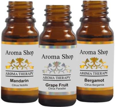 Rk's Aroma Bergamot, Grape Furit & Mandrin Essential Oil (pack of 3)
