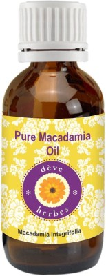 DèVe Herbes Pure Macadamia Essential Oil 30ml -Macadamia Integrifolia.