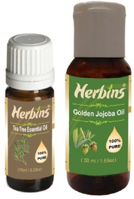 Herbins Essential Oil (Tea Tree & Jojoba)
