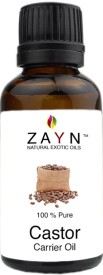 Zayn Coldpressed Castor oil -100 % Pure, Natural and undiluted carrier oil(50 ml)
