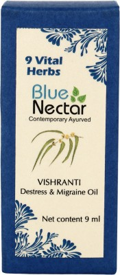 Blue Nectar Vishranti Destress & Migraine Essential Oil