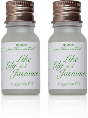 Nyassa Like Lily And Jasmine Fragrance Oil Pack Of 2