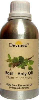 Devinez Basil - Holy (Tulsi) Essential Oil, 100% Pure, Natural & Undiluted, 250-2061