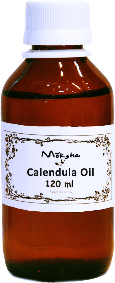 Moksha Calendula Oil - Cold Pressed(120 ml)