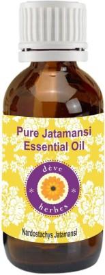 DèVe Herbes Pure Jatamansi Essential Oil (5ml)-Nardostachys jatamansi