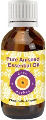 DèVe Herbes Pure Aniseed Essential Oil 30ml - Pimpinella Anisum