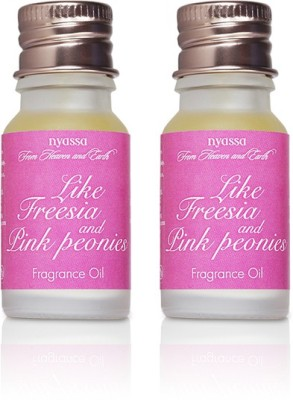 Nyassa Like Freesia And Pink Peonies Fragrance Oil Pack Of 2