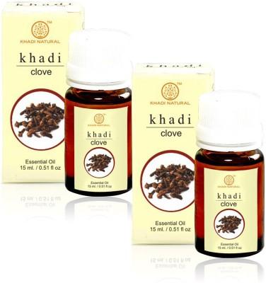 Khadi Natural Natural Clove Essential Oil - 15ml (Set of 2)