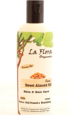 La flora Organics Pure Sweet Almond Oil-Skin & Hair care