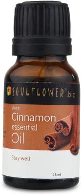 Soulflower Cinnamon Essential Oil(15 ml)