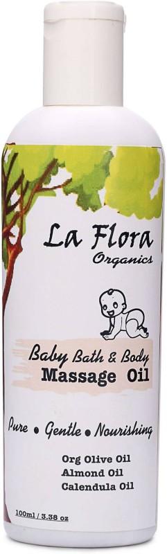 La Flora Organics Baby Bath & Body Massage Oil(100 ml)