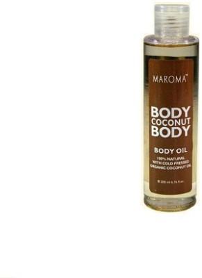 Maroma Auroville Organic Coconut Body Oil