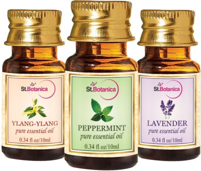 StBotanica Lavender + Peppermint + Ylang-Ylang Pure Essential Oil