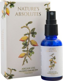 Nature's Absolutes Pure Moroccan Argan Oil - 30 ml - Imported From Morocco for Hair , Skin & Nails for hair growth , skin moisturizer , anti aging and anti-wrinkles , ultimate beauty secret(30 ml)