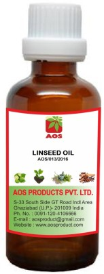 AOS Products 100% Pure and Natural Linseed Oil(30 ml)