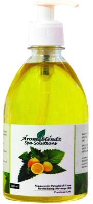 Aromablendz Peppermint Patchauli Lime Massage Oil