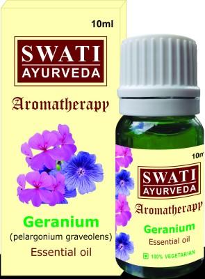 Swati Ayurveda Essential Oil Geranium (Pelargonium Graveolens)