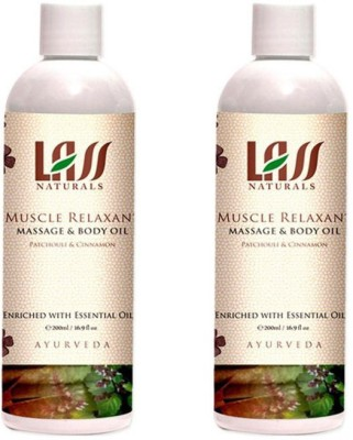 Lass Naturals Lass Naturals LASS MUSCLE RELAXANT MASSAGE OIL Combo ( Set of 2 )