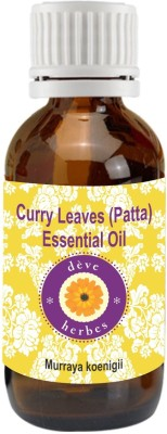 Deve Herbes ​Pure Curry Leaves (Patta) Essential Oil​ 10ml (Murraya koenigii)