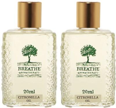 Breathe Aromatherapy Citronella Oil(Pack Of 2)