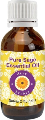 DèVe Herbes Pure Sage Essential Oil - Salvia Officinalis