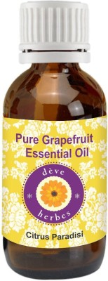 DèVe Herbes Pure Grapefruit Essential Oil (15ml)-Citrus Paradisi