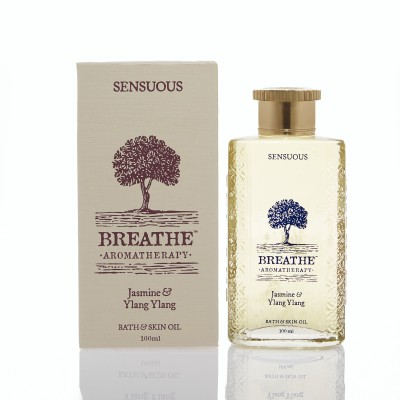 Breathe Aromatherapy Sensuous Bath and Skin Oil