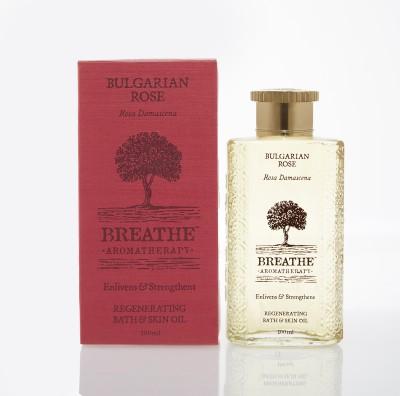 Breathe Aromatherapy Bulgarian Rose Bath And Skin Oil
