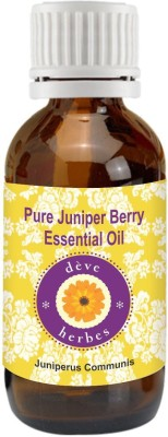 DèVe Herbes Pure Juniper Berry Essential Oil (15ml)-Juniperus Communis
