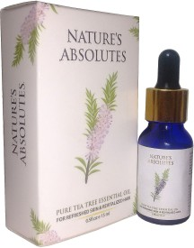 Nature's Absolutes Pure Tea Tree Essential Oil(15 ml)