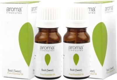 Aroma Treasures Basil (Sweet) essential oil (pack of 2)