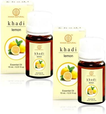 Khadi Natural Natural Lemon Essential Oil - 15ml (Set of 2)