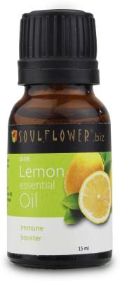 Soulflower Lemon Essential Oil(15 ml)